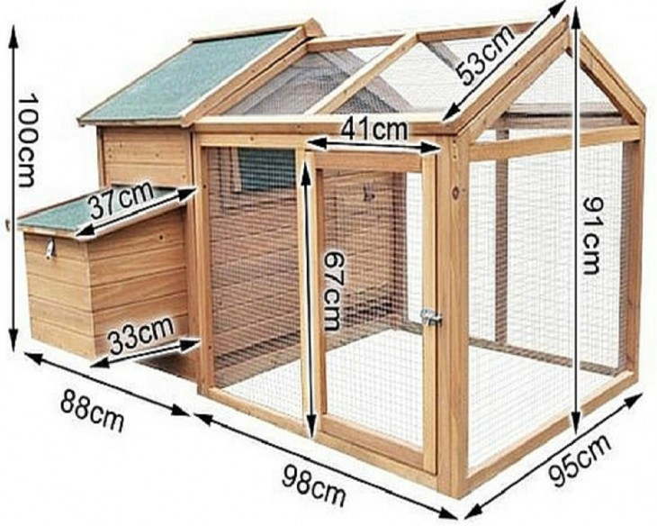 chicken coop for 4 2